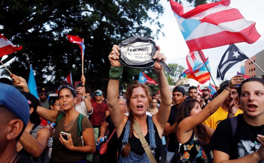 Protesty w Portoryko