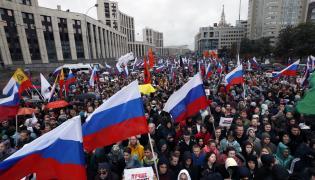 Moskwa protesty