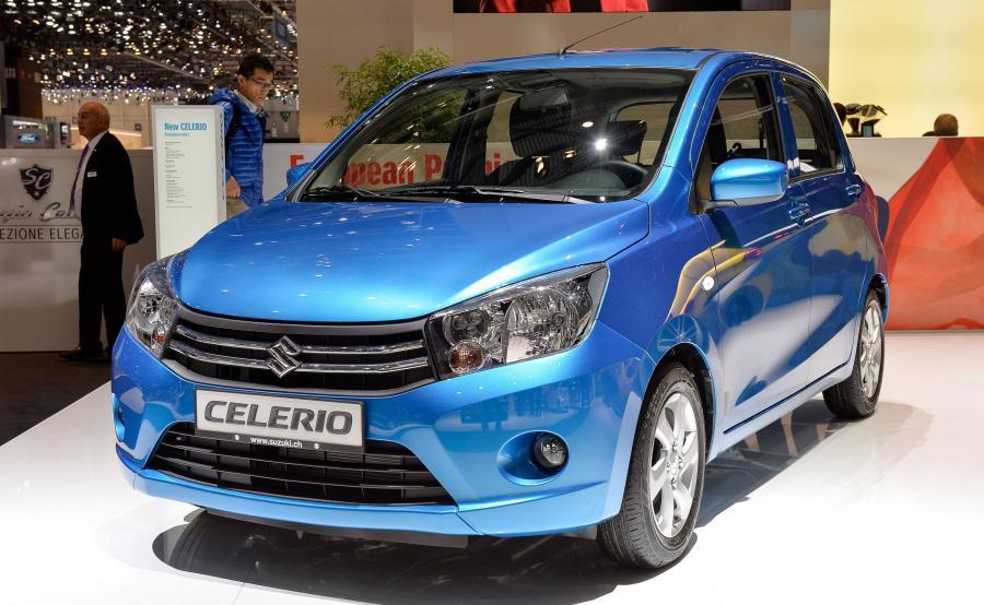 Suzuki Celerio najoszczędniejszym autem w ocenie kierowców