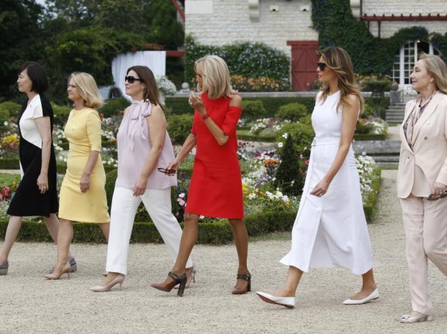 Żony przywódców państw G7
