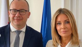 Adam Bodnar i Małgorzata Rozenek-Majdan