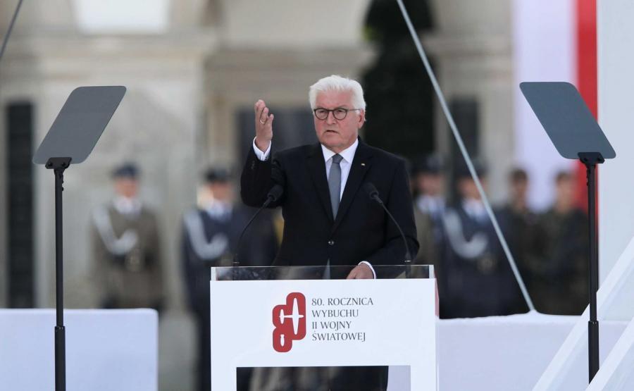 Prezydent Niemiec Frank-Walter Steinmeier