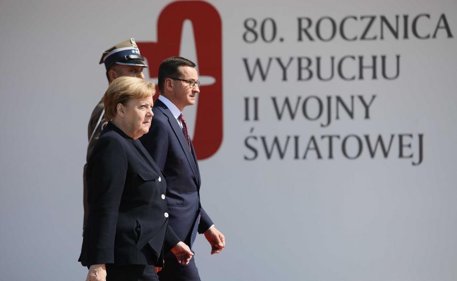 Angela Merkel, Mateusz Morawiecki