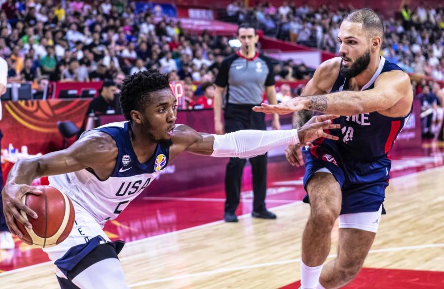 Stany Zjednoczone przegrały z Francją na koszykarski mundialu