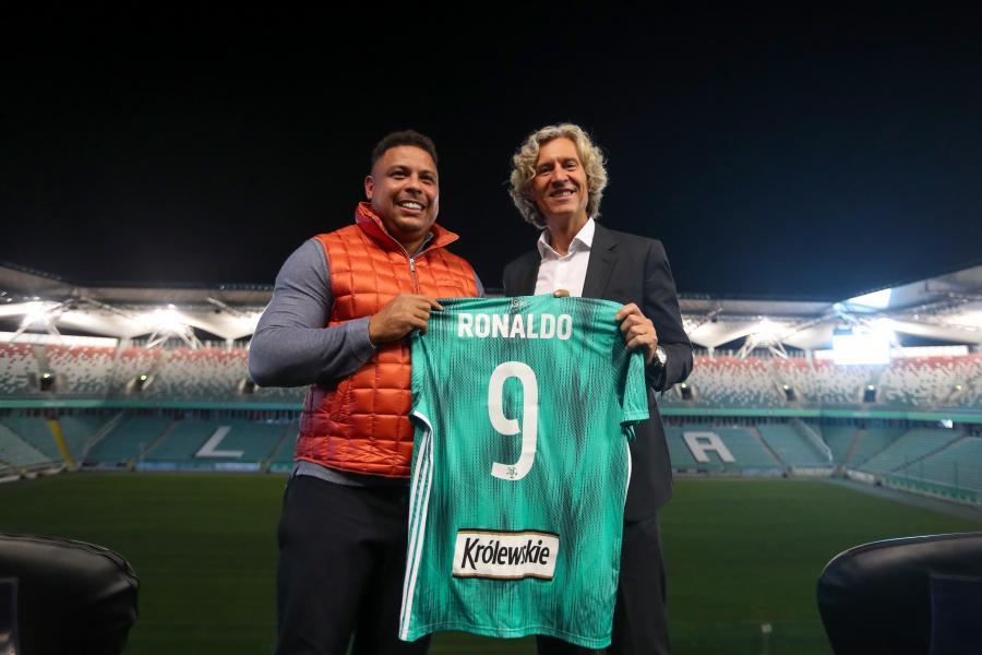 Ronaldo i Dariusz Mioduski