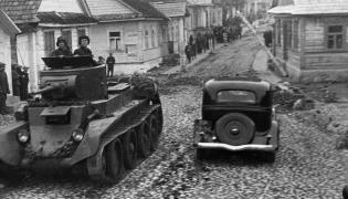 Radziecki czołg w Polsce, wrzesień 1939