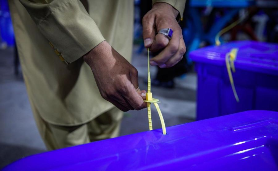 Przygotowania do wyborów prezydenckich w Afganistanie