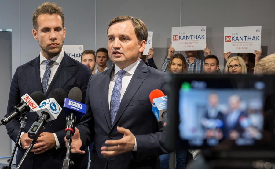 Zbigniew Ziobro i Jan Kanthak