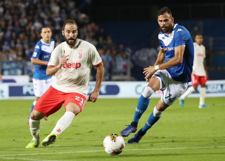 Juventus pokonał Brescię 2:1