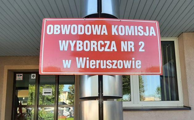 Komisja wyborcza w Wieruszowie fot. Dorota Kalinowska