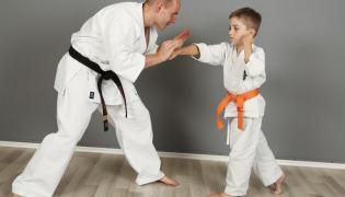 Maciej Miller z Klubu Karate Kyokushin TOSHI