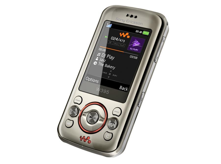 Muzyczny Sony Ericsson W395