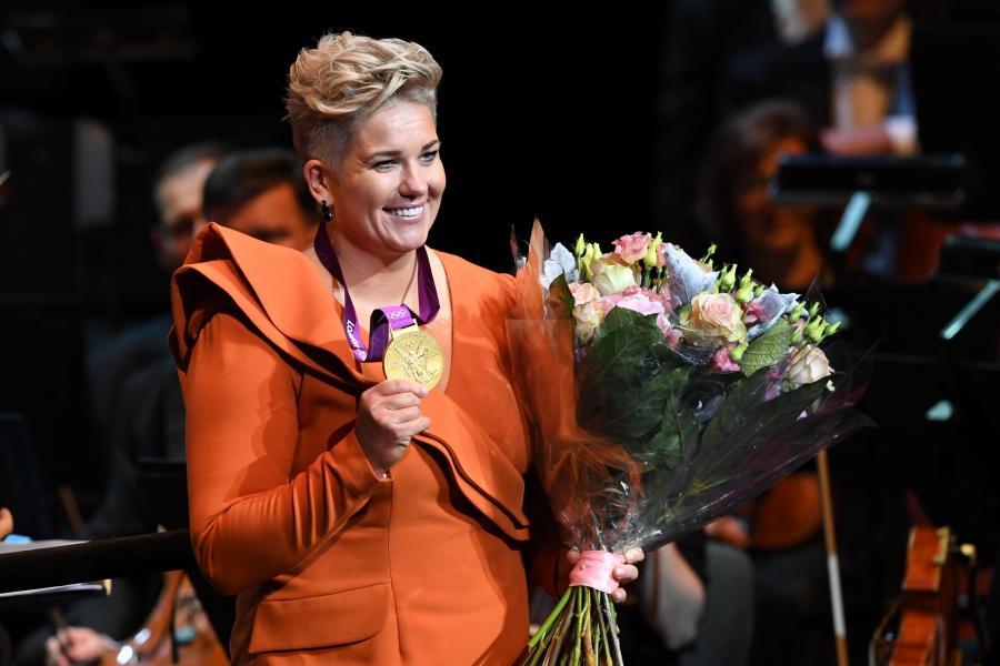 Złota medalistka igrzysk olimpijskich Anita Włodarczyk