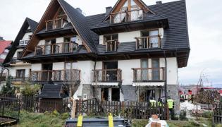 Białka Tatrzańska - wybuch gazu w hotelu
