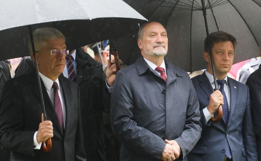 Stanisław Karczewski, Antoni Macierewicz i Michał Dworczyk