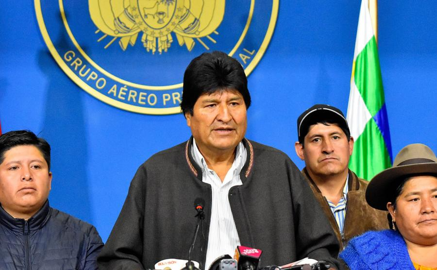 Prezydent Morales