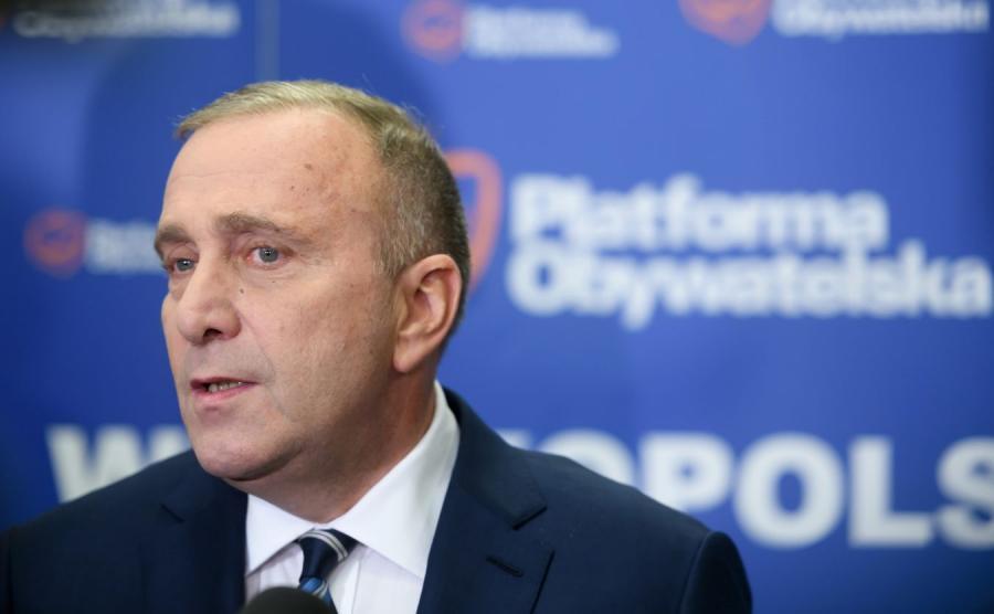 Grzegorz Schetyna szef PO