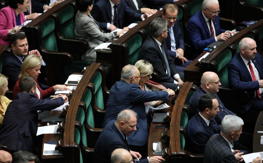 Blok głosowań w Sejmie