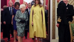 Królowa Elżbieta II i Melania Trump