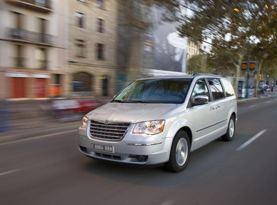 Chrysler grand voyager już w Polsce