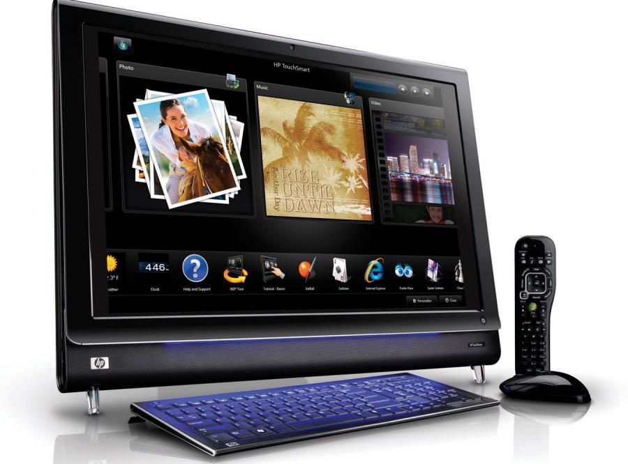 TouchSmart od HP: Pecet \