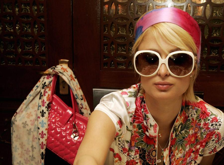 Szał na szale Paris Hilton