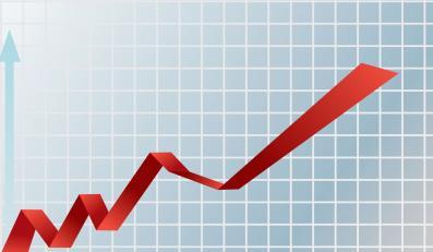 Rosnący wykres PKB - zdjęcie ilusracyjne