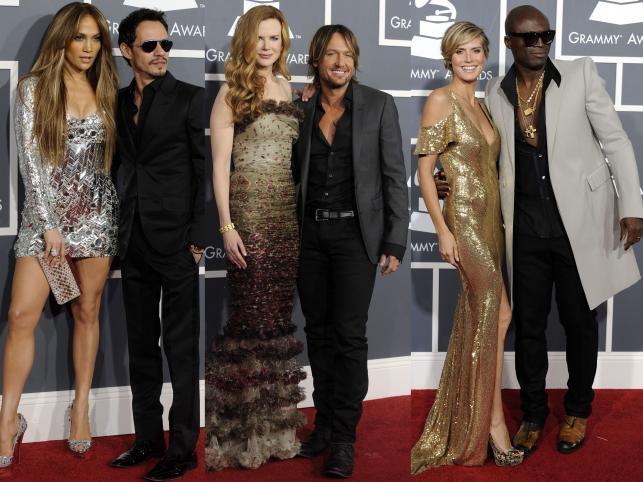 Stylowe pary na rozdaniu Grammy