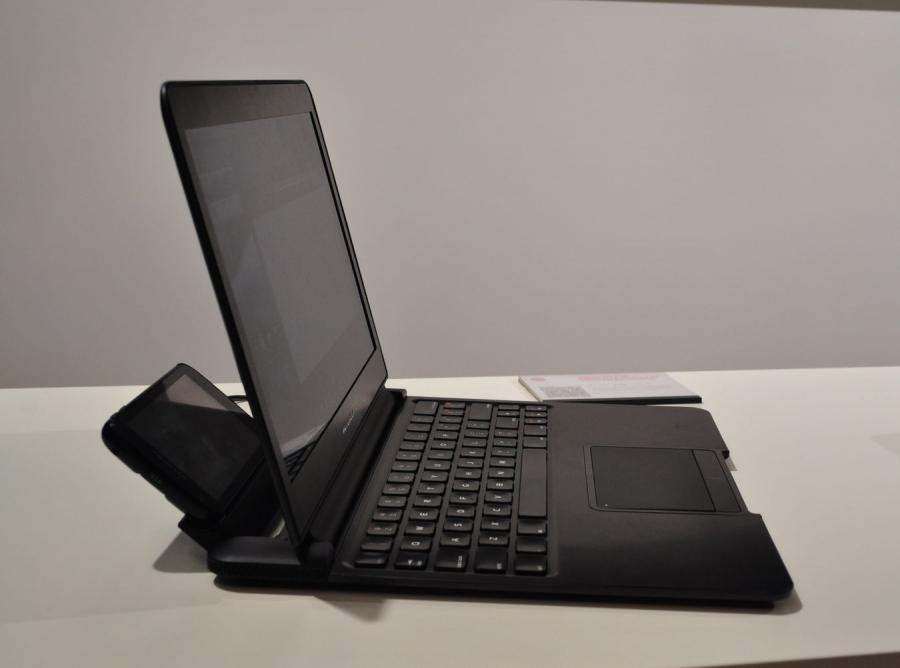 Atrix w roli laptopa