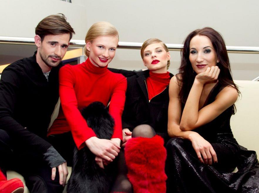 Pokaz kolekcji Ewy Minge i Arkadiusza Prajsa z udziałem uczestniczek Top Model