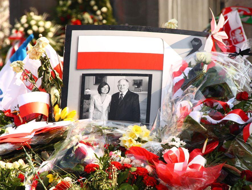 Para prezydencka Maria i Lech Kaczyńscy