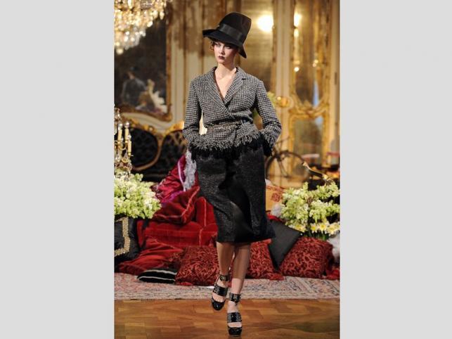 Ostatnia kolekcja Johna Galliano dla Diora: ready-to-wear na sezon jesień-zima 2011/12