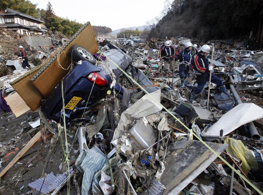 Po tragicznym trzęsieniu ziemi i tsunami anulowano tysiące zaplanowanych podróży do Japonii