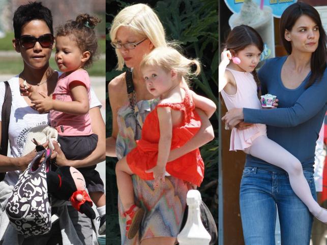 Słynne matki i ich słodkie pociechy
