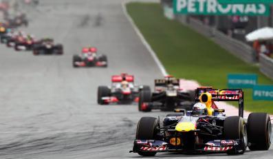Vettel wygrał GP Malezji