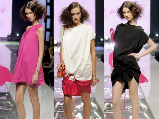 Sukienki, wiosna/lato 2011 - kolekcja Dawida Wolińskiego