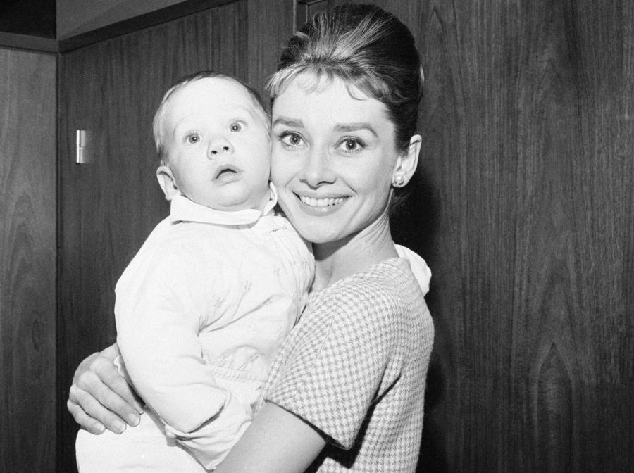 Audrey Hepburn z synkiem