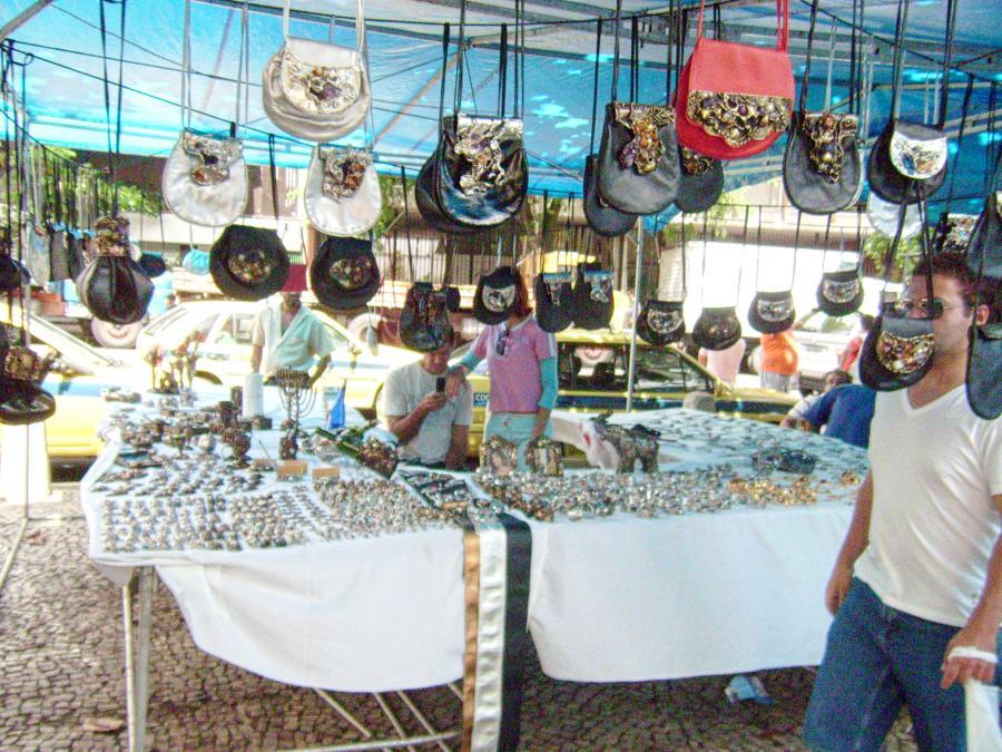Najciekawszy z targów w Rio - Feira Hippie
