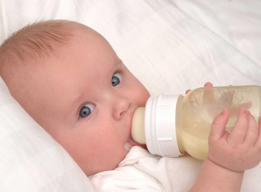 Czasami niemowlak nie może być zostawiony w żłobku.