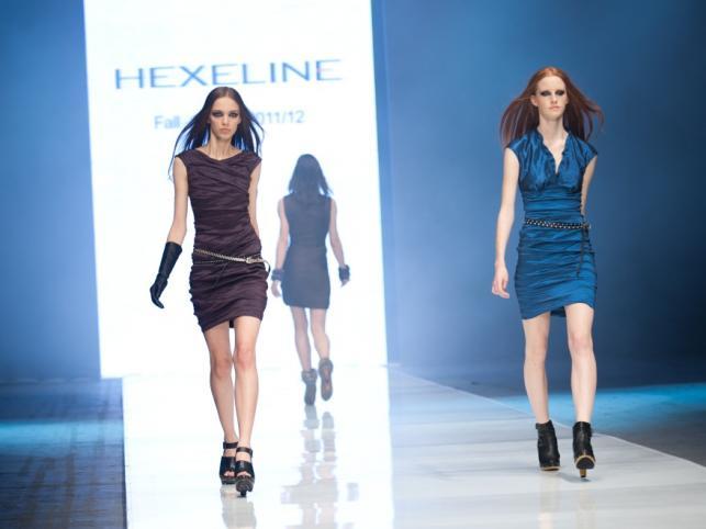 Powiało chłodem... - pokaz kolekcji Hexeline jesień 2011 na Fashion Week Poland