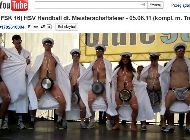 Show szczypiornistów HSV