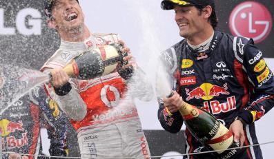 Jenson Button i Mark Webber