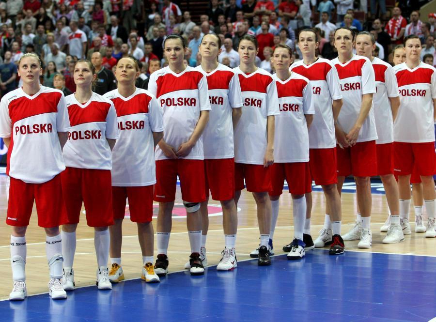 Reprezentacja polskich koszykarek