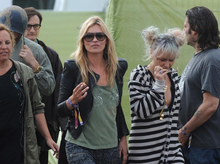 Kate Moss na tegorocznym Glasto