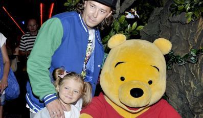 Bartosz Obuchowicz z córką