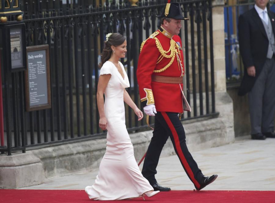 Suknia Pippy Middleton zrobiła furorę na ślubie Kate i Williama