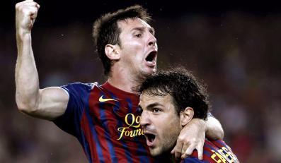 Lionel Messi i Cesc Fabregas