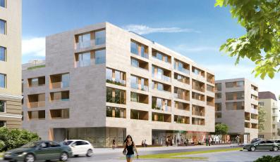 W pierwszym budynku kompleksu przy ul. Niemcewicza będzie 70 mieszkań