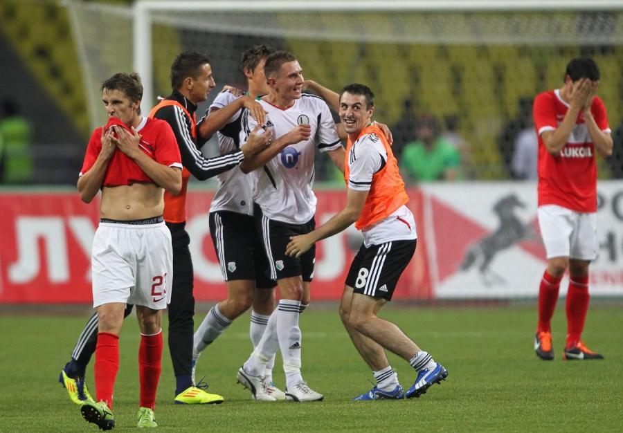 Legia pokonała Spartaka