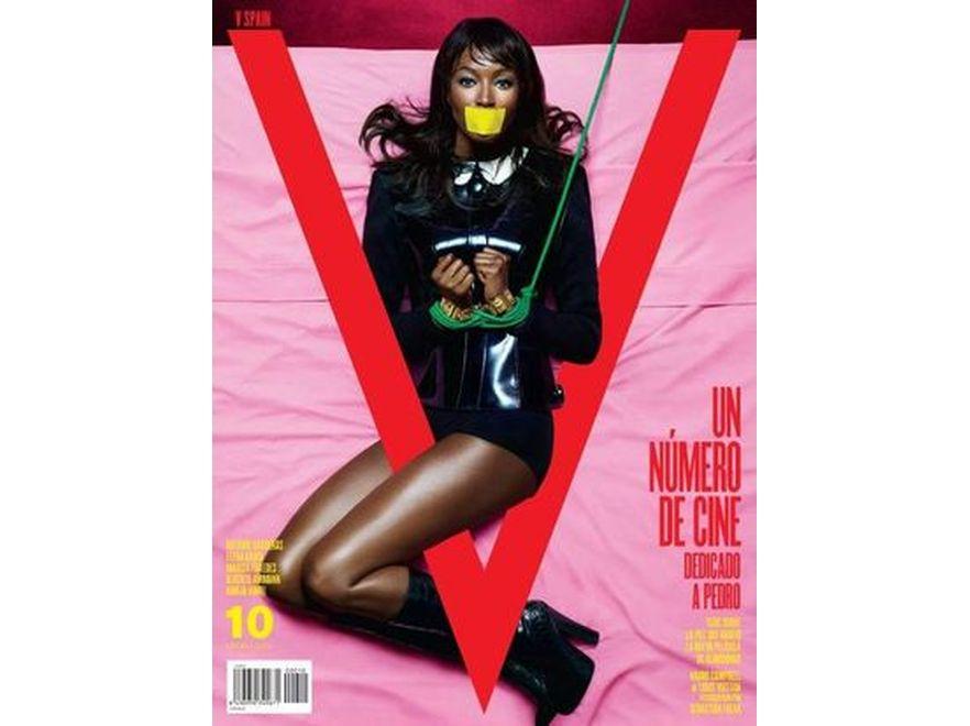 """Naomi Campbell na okładce """"V Magazine"""" Spain"""